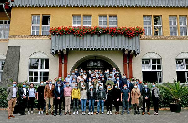 Gruppenbild - Summer School 2020 in Sommerfeld