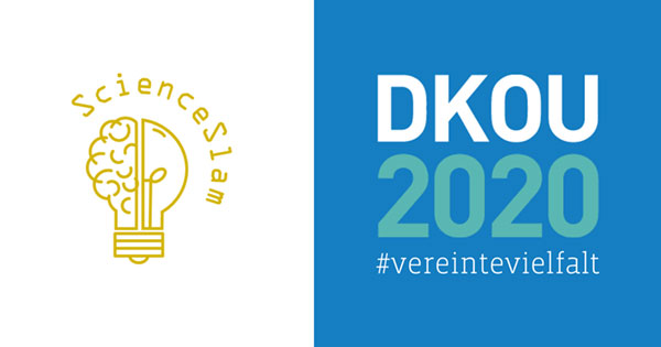 DKOU 2020 Science Slam Logo